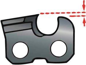 Глубина пропила - основная характеристика профиля пилы.