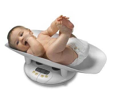 Весы для ребенка.