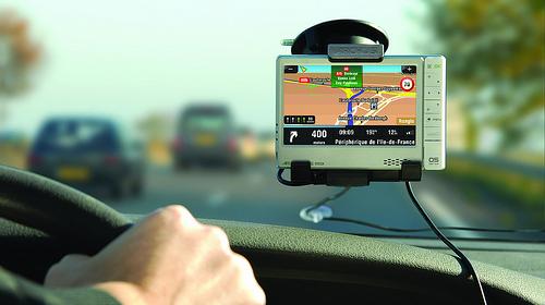 GPS-навигатор всегда найдет дорогу домой.
