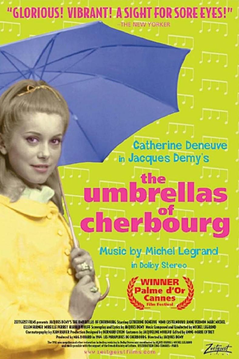 """Американский постер. В 1965 году французский фильм был номинирован на Оскар в категории """"Лучший фильм на иностранном языке""""."""