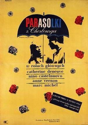 "Польский постер ""Parasolki z Cherbourga""."