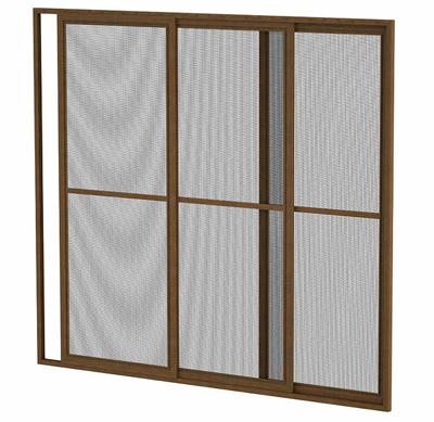 Раздвижная москитная сетка на окно.