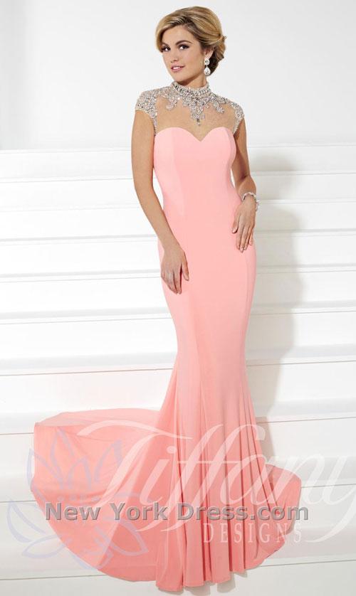 Платье на выпускной 2015 от Tiffany (фото с NewYorkDress).