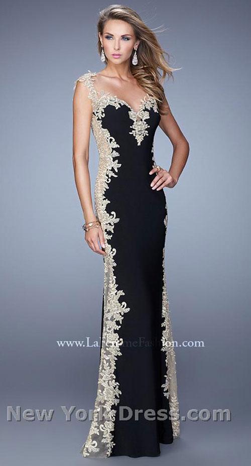 Выпускное платье 2015 от La Femme (фото с NewYorkDress).