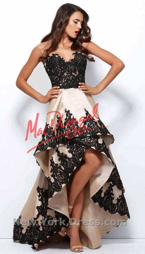 Выпускное платье 2015 Mac Duggal (фото с NewYorkDress).