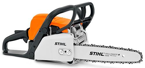 Stihl MS 180 – лучшая легкая бензопила для дачи.