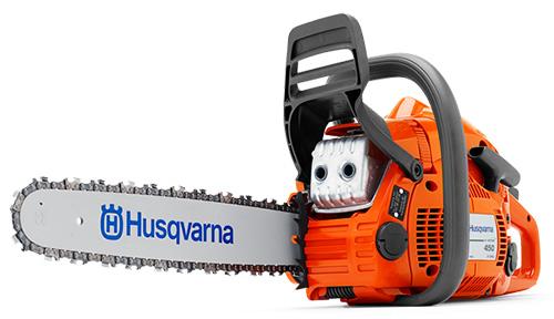 Husqvarna 450e – лучшая полупрофессиональная бензопила для дома.