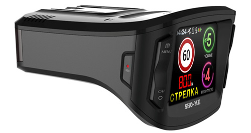 Sho-Me Combo №1 – лучший автомобильный видеорегистратор с радар-детектором 2017 года.