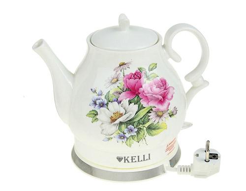 Керамический электрический чайник Kelli KL-1434.