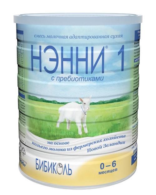 Молочная смесь для новорожденных на основе натурального козьего молока Нэнни (БИБИКОЛЬ).