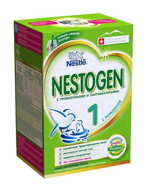Молочная смесь для новорожденных с оптимальным соотношением цены и качества – Nestogen (Nestle).