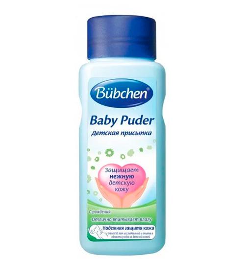 Bubchen Baby Puder – лучшие присыпки для новорожденных рейтинга 2018 года.