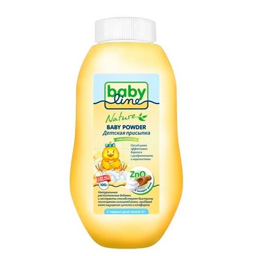 Присыпка для новорожденных под подгузник BabyLine.