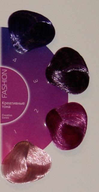 Палитра крем-красок для волос Estel Princess Essex Fashion.