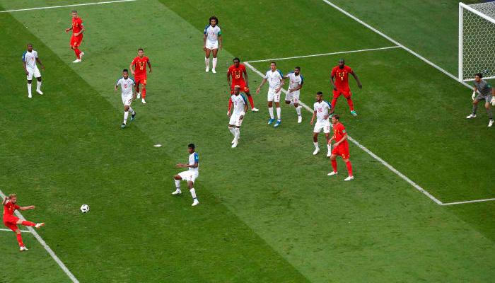 Первый гол Дриса МЕРТЕНС в матче Бельгия – Панама.
