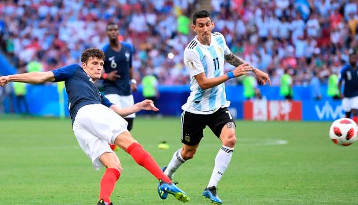 Второй гол Бенжамена ПАВАРА в матче Франция – Аргентина.