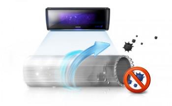 Автоматическая система очистки кондиционеров Samsung