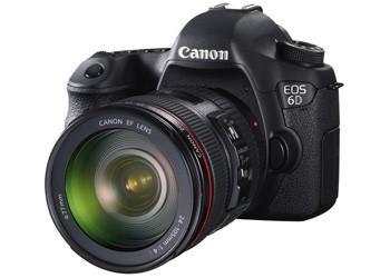 Цифровая зеркальная камера от Canon EOS 6D