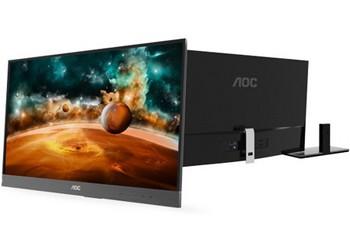 AOC представила 27-дюймовый монитор i2757fh с ультратонкой рамкой