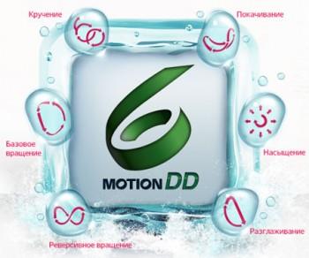 6 Motion DD LG – шесть движений заботы для правильной стирки