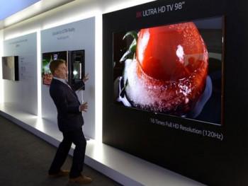 Телевизор от LG с разрешением 8k (Super Hi-Vision)