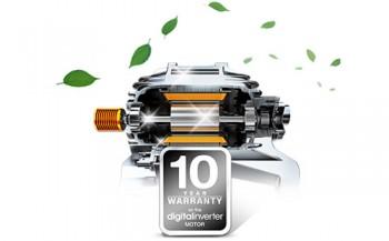 10 лет гарантии и стиральные машины Samsung