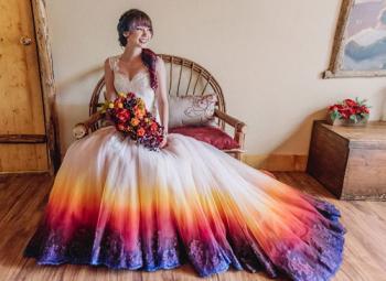 Что означает цвет свадебного платья