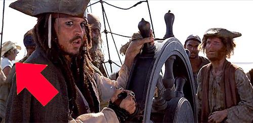 Киноляп в фильме «Пираты Карибского моря».