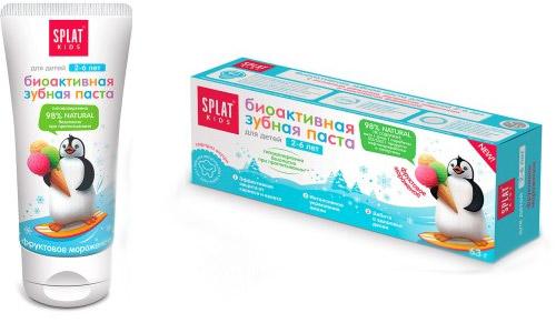 Зубная паста для детей Splat.