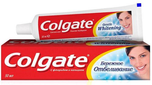 Colgate – лучшая зубная паста рейтинга 2019 года.