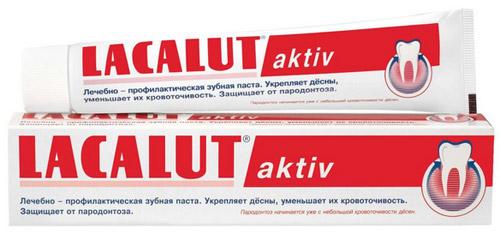 Зубная паста Lacalut.