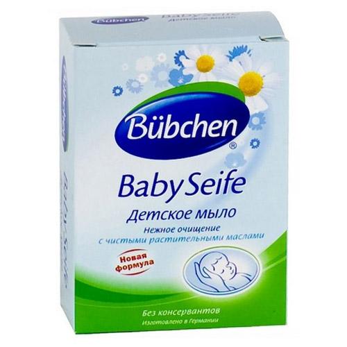 Детское мыло для новорожденного Bubchen.