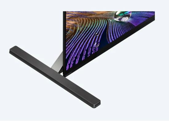 Характеристики телевизора Sony BRAVIA XR A90J: Размер: 55 дюймов (16:9), Тип панели: OLED. Разрешение экрана: 4K Ultra HD. Расширенный динамический диапазон (HDR). Частота обновления: 120 Гц. Smart TV: Google TV.