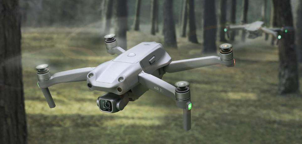 Квадрокоптер для аэросъемки DJI Air 2S