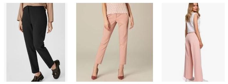 Гофрированные брюки сезона весна-лето 2021 год