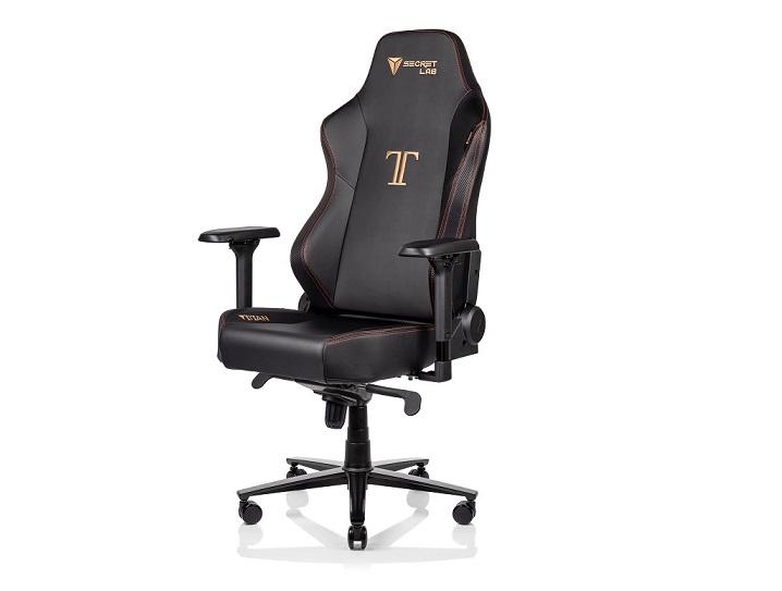 Кресло Secretlab Titan Stealth 2020: Вес: 35 кг. Сиденье (Ш x Г): 32 x 50 см. Рекомендуемый размер: M - L. Наклон: 165 град.