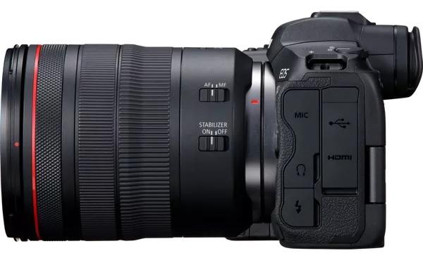 Беззеркальный фотоаппарат Canon EOS R5: Разрешение матрицы:45 Мпикс. Полнокадровая матрица: ДА. Тип матрицы: CMOS. Разрешение: 8192×5464. ЖК-экран: 3.15 дюйма. Оптический стабилизатор объектива: НЕТ. Видео: 4K 120p.