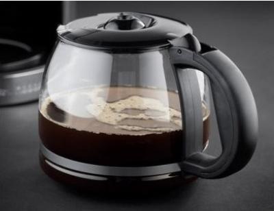 Лучше, если кофейник кофеварки будет стеклянным
