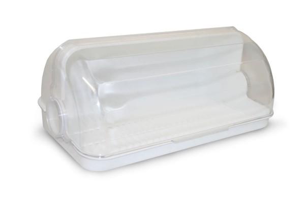 Пластиковая хлебница.