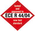 Европейский стандарт ECE R 44/04.
