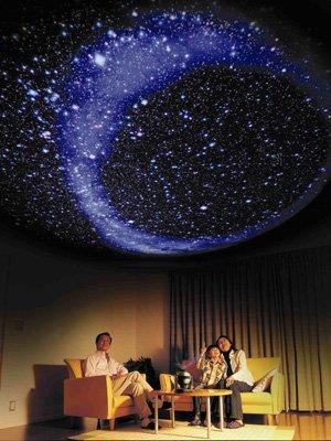 Звездное небо в доме.