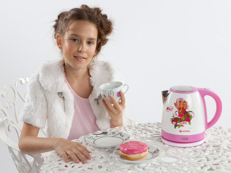 Приятное чаепитие в подарок от Winx Club и Vitek.