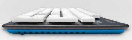 Одновременно, Logitech k310 красивая, удобная и современная клава.