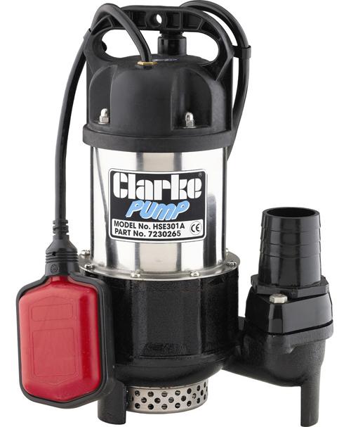 Погружной дренажный насос работает только с относительно загрязненной водой.