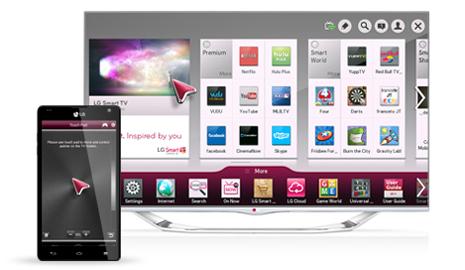 LG TV Remote - смартфон вместо пульта.