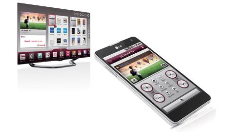 LG TV Remote - превращаем любое домашнее устройство на ОС Android или iOS во второй телевизор.