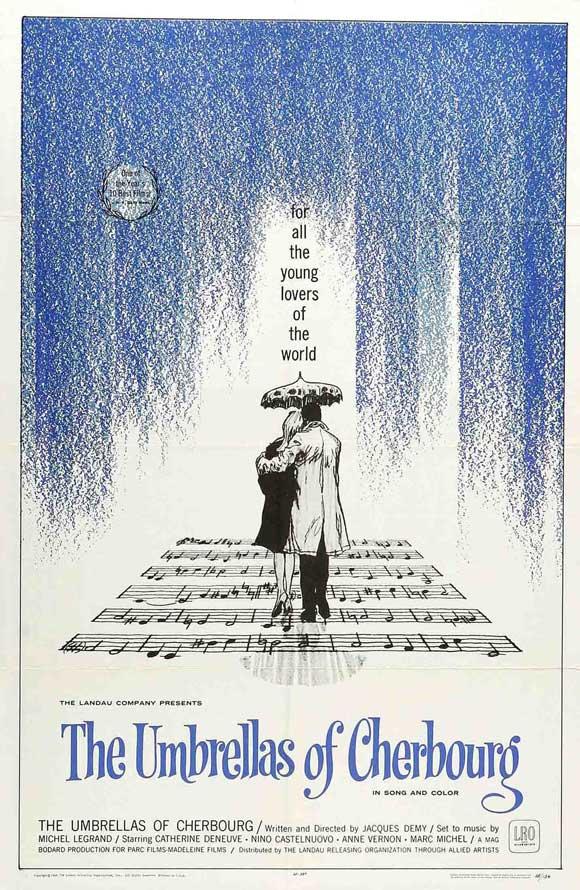 Фильм «Шербургские зонтики» стал особенным благодаря великолепной музыке Мишеля Леграна. Мелодии из него до сих пор звучат в радио и теле-эфирах.
