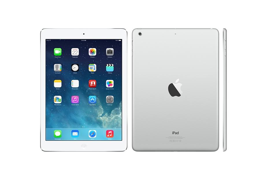 """Лидер предложений на декабрь 2013 года и мечта пользователей Apple iPad Air в версии Wi-Fi и Wi-Fi + Cellular (3G + 4G + GSM 850/900/1800/1900) 16GB. Экран Retina IPS (9.7"""", 2048x1536),  1 ГБайт операт. памяти, ОС Apple iOS 7. Обеспечивает от 9 до 10 часов работы в Интернете."""