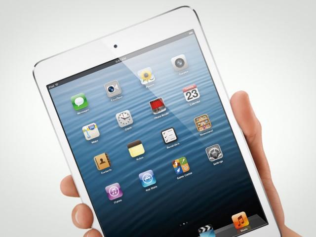 """Свежый продукт в сегменте более дешевых и миниатюрных Apple iPad его Mini-версия с экран Retina IPS (7.9"""", 1024x768).  Также доступны версии Wi-Fi и Wi-Fi + Cellular."""