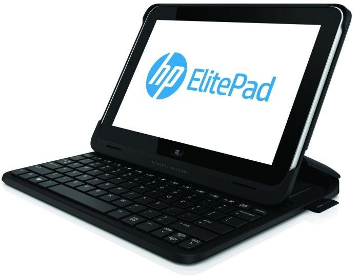 """Планшет HP ElitePad 900 G1 Tablet 64GB. Экран с диагональю 10.1"""" (1280x800). Процессор двухъядерный Intel Atom Z2760 (1.8 ГГц), RAM - 2 ГБайта. Связь 3G (UMTS), Wi-Fi, Bluetooth. Планшет работает под управлением Windows 8. Докстанцию  скорее всего придется покупать отдельно."""